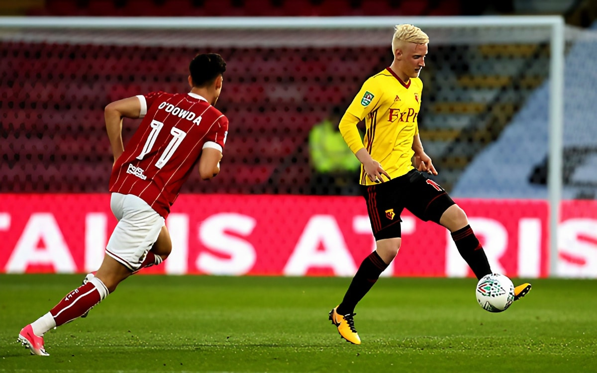 Eagles' eye midfielder from rivals with Watford on alert
